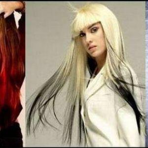 Чудеса фарбування волосся в два кольори