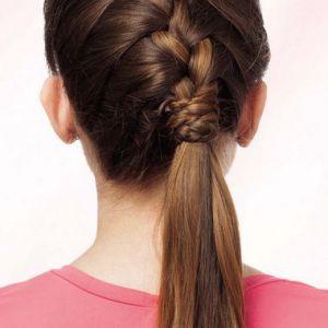 Французька коса - покрокова інструкція