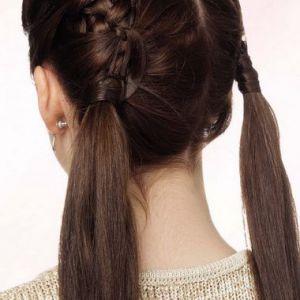 Японське і вузликове плетіння волосся