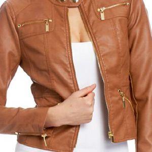 Як відпрасувати куртку зі шкірозамінника: завжди будь стильною