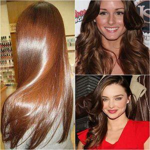 Каштановий колір: як вибрати і отримати потрібний відтінок волосся?