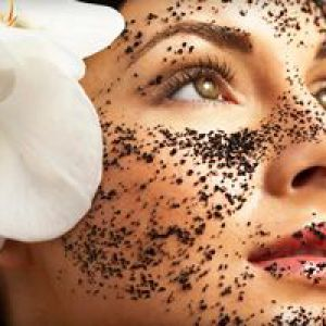 Кавовий скраб для шкіри обличчя