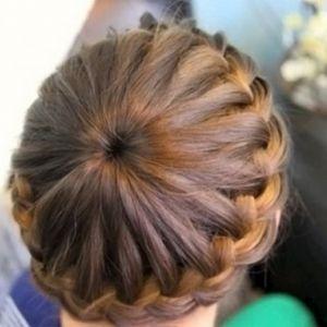 Кіски маленьким дівчаткам для середніх і коротких волосся