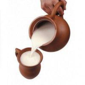 Лікування кашлю гарячим молоком з содою