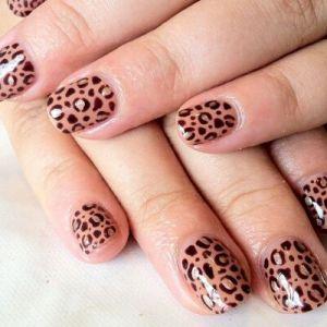 Леопардовий манікюр в домашніх умовах: котячі ногтікі