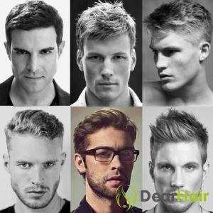 Чоловічі цікаві стрижки 2015 для короткого волосся