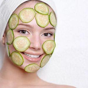 Огіркова маска для обличчя на різні випадки