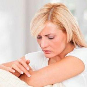 Чому з`являється висип на ліктях