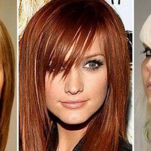 Популярні середні зачіски з чубчиком