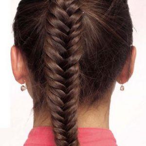 Зачіска - коса «риб`ячий хвіст»