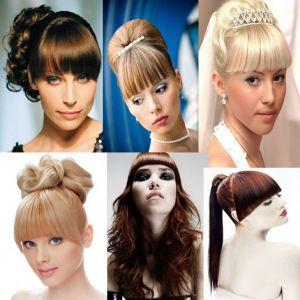 Зачіски на випускний: вибираємо варіанти з чубчиком