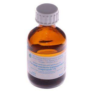 Саліцилова кислота від прищів - простий засіб з перевіреною ефективністю
