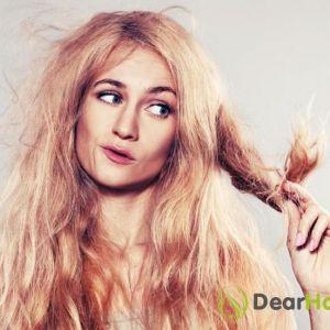 Швидка допомога для спалених фарбою волосся